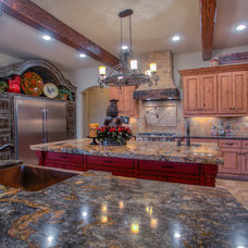 Rustic Kitchen by Brent Gibson Classic Home Design