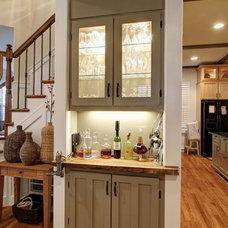 Craftsman Kitchen by G&H Architect Builders