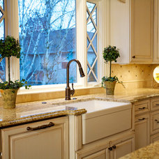 Traditional Kitchen by DreamBuilder Custom Homes