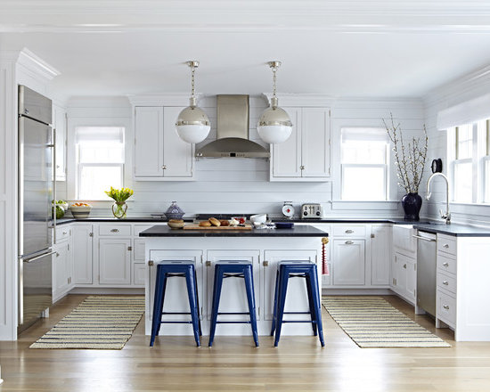all-time favorite beach style kitchen with soapstone countertops