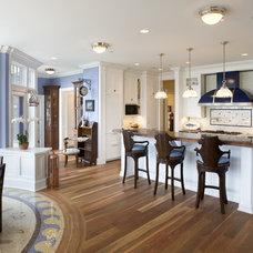 Traditional Kitchen by Bruce Palmer Interior Design