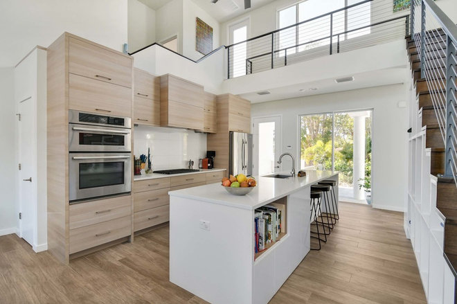Contemporary Kitchen by Modern Tampa Bay Homes