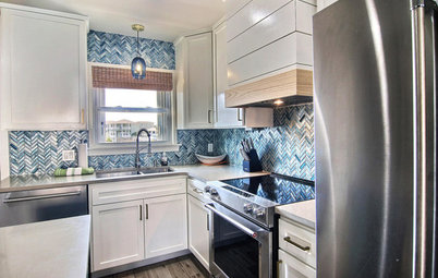 Houzz Tour: Condo Destroyed by Hurricane Harvey Comes Back Strong
