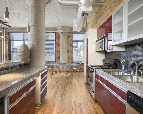 12,159 Industrial Kitchen Design Ideas & Remodel Pictures | Houzz