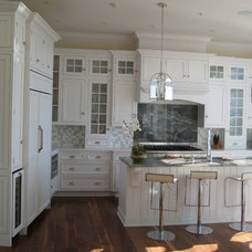 Traditional Kitchen by J. E. TUCKER, INC.