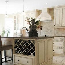 Kitchen by Oakville Kitchen and Bath Centre