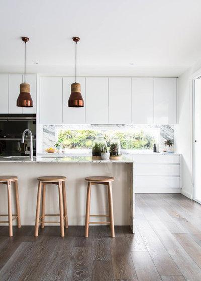 Scandinavian Kitchen by Bask Interiors
