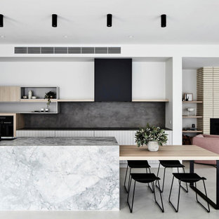 Photo of a contemporary kitchen in Perth.