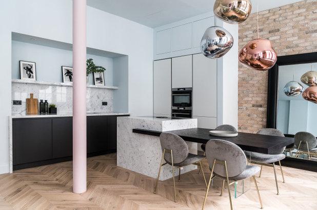 Contemporary Kitchen by Tiptoe Design & Build