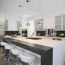 Contemporary Kitchen by Carey Mudford Interior Design