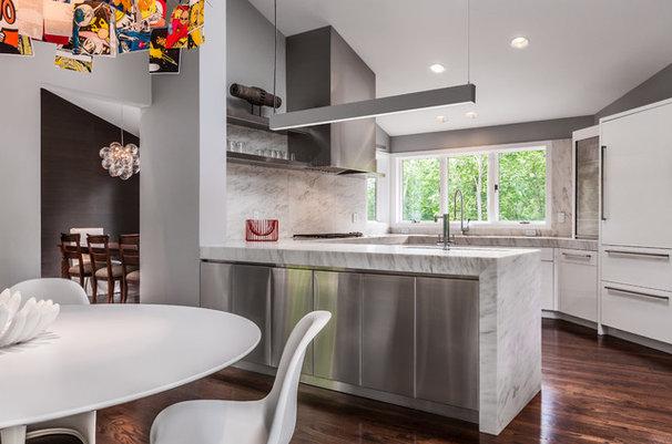Contemporary Kitchen by KICK Interiors LLC