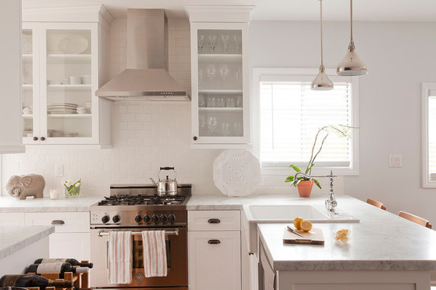 Traditional Kitchen by GEORGE Interior Design