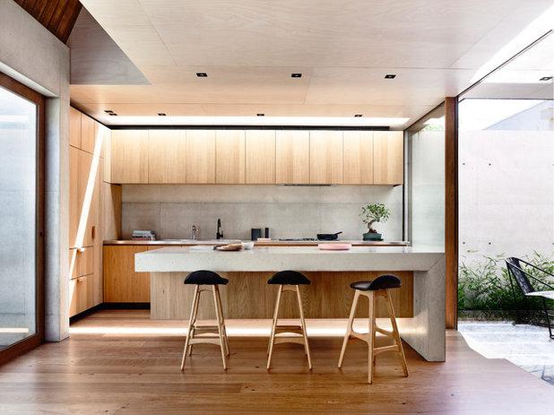 Modern Kitchen by Schulberg Demkiw Architects