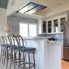 Beach Style Kitchen by Charmean Neithart Interiors, LLC.