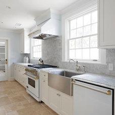Beach Style Kitchen by KDW Home/Kitchen Designworks