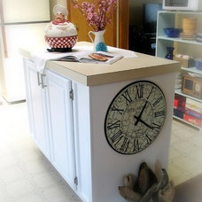 Beach Style Kitchen by Sally Lee by the Sea, LLC
