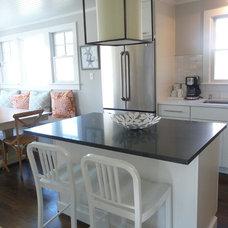 Beach Style Kitchen by kelley gardner