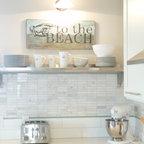 Stone House Beach Style Kitchen Portland Maine By