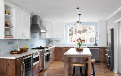 Kitchen of the Week: Fun Beach Style for a Firefighter Dad