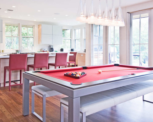 Pool Table Dining Combination | Houzz