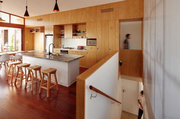 Contemporary Kitchen by DAVID BARR ARCHITECTS