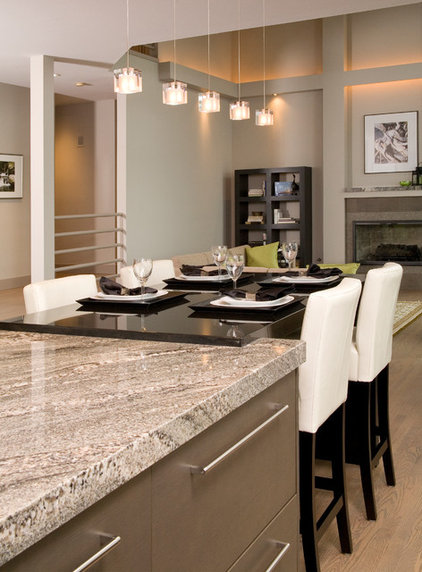 contemporary kitchen by Candace Nordquist Interiors