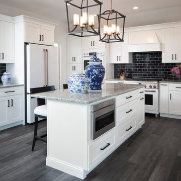 Beach Haven West, New Construction Kitchen, Butler's Pantry, and Flooring
