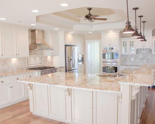 Almond White Kitchen Cabinets