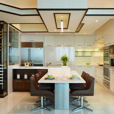 Beach Style Kitchen by Britto Charette LLC - NYC Interiors