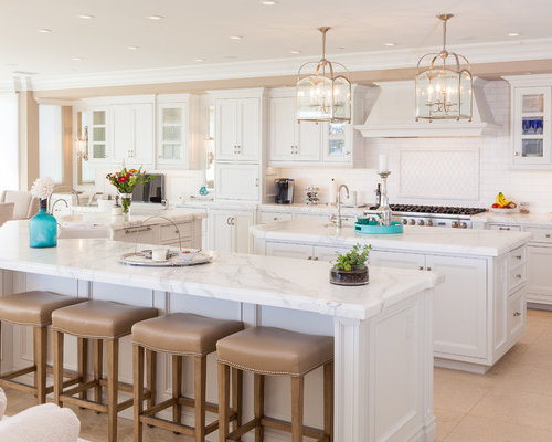White Marble Countertops Ideas, Pictures, Remodel and Decor