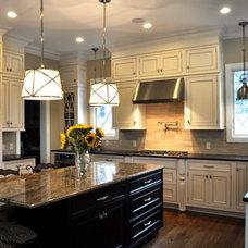 Traditional Kitchen by Larson Gatsch Interiors