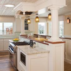 Beach Style Kitchen by Bigelow Interiors, LLC