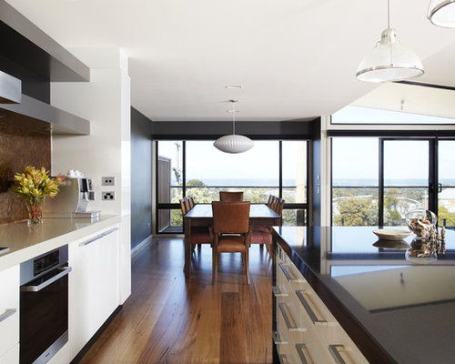 Single Wall Kitchen Design Ideas Amp Remodel Pictures Houzz