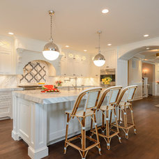 Transitional Kitchen by Space Savvy Design