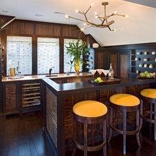 Contemporary Kitchen by Bruce Palmer Coastal Design