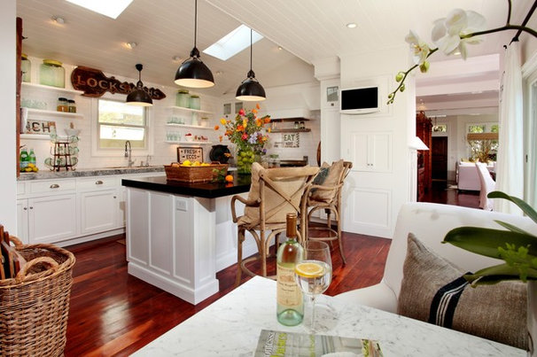 Beach Style Kitchen by Kelley & Company Home