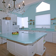 Contemporary Kitchen by Kimberly Cole Design