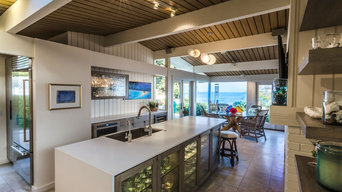 Beach house Kitchen and Outdoor BBQ remodel