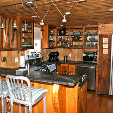 Eclectic Kitchen Beach House Kitchen