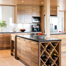 Gold River - Warm Contemporary Kitchen