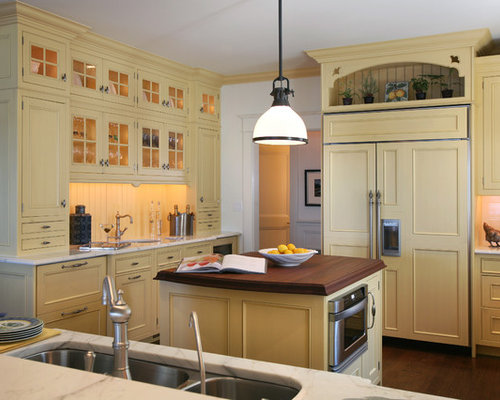 Above Refrigerator Cabinets Home Design Ideas, Pictures