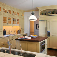 traditional kitchen by Asher Associates Architects