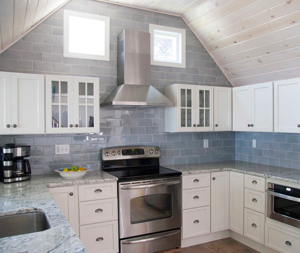 Coastal Kitchen by Judy Cook Interiors, LLC