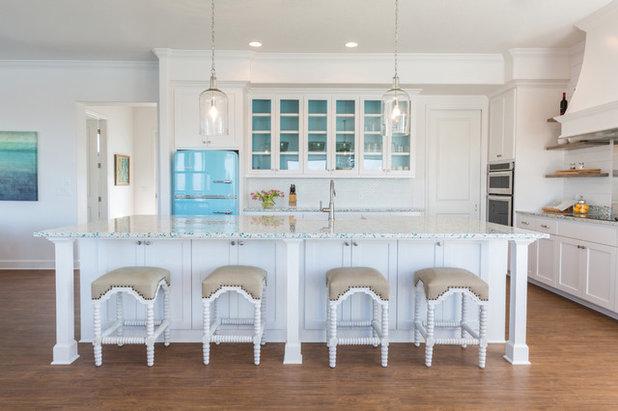 Beach Style Kitchen by Laura U, Inc.