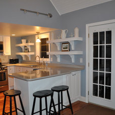 Beach Style Kitchen Beach House Revitalization Project