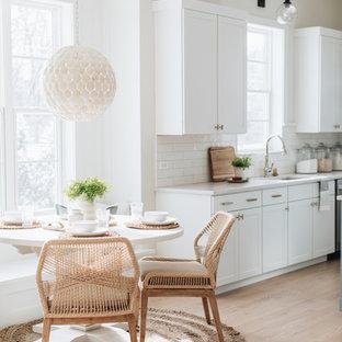 Coastal kitchen pictures - Kitchen - coastal kitchen idea in Chicago