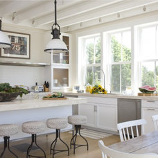 Beach Style Kitchen by Kate Jackson Design