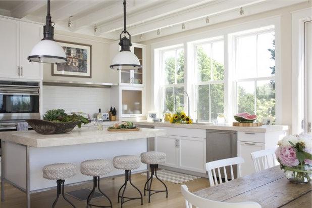 Coastal Kitchen by Kate Jackson Design