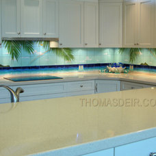 tropical kitchen by Thomas Deir Studios