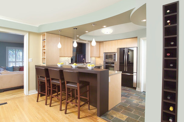 Eclectic Kitchen by XTC Design Incorporated